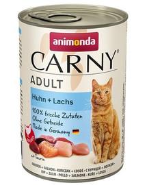 ANIMONDA Carny Adult Vištiena ir lašiša 400g