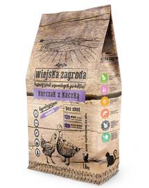 WIEJSKA ZAGRODA Vištienos ir antienos maistas katei 5 kg