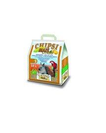 JRS Chipsi mais citrus 10l/4.6 kg -podestýlka z kukuřičných klasů pro hlodavce