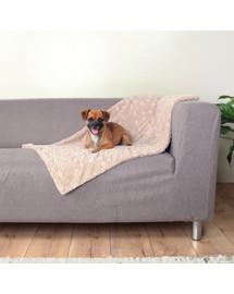 WIKOPET Reklaminė antklodė spalvų miksas 70/80 cm