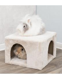 TRIXIE Namas triušiams ir jūros kiaulitėms pagamintas iš pliušo