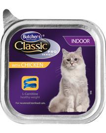 BUTCHER'S Classic Indoor Cat su vištienos paštetu 100 g