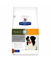 HILL'S PD Metabolic + Urinary Canine 12kg