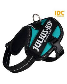 Trixie petnešos Julius-K9 Idc mini / M 49–67 cm / 22 mm mėtinės