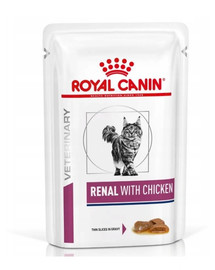 Royal Canin Renal Feline vištiena 12 X 85 g
