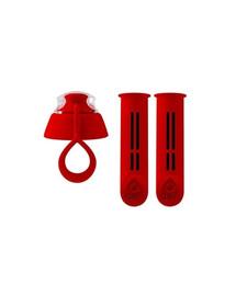 DAFI 2 filtrai gertuvei su užsukimu raudonos spalvos