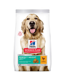 HILL'S Science Plan Adult 1+ Perfect Weight Large breed sausas maistas su vištiena 12 kg