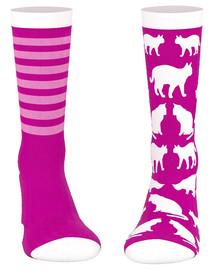 WHISKAS Gyvūnų diena kojinės rožinės katės