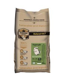 NATURAL-VIT Korona Natury Pilnos porcijos šinšilos mišinys10 kg