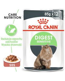 Royal Canin Digest Sensitive padaže 85 g X 12