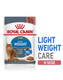 Royal Canin Ultra Light 85 g padaže X 12
