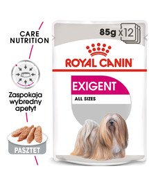 ROYAL CANIN Exigent konservai 85 g x 12