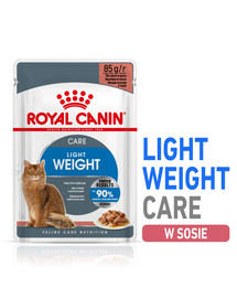 Royal Canin Ultra Light 85 g padaže X 12