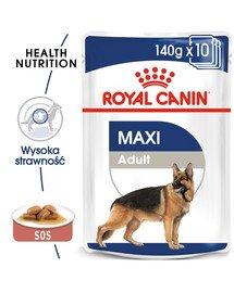 ROYAL CANIN Maxi Adult konservai 140 g x 10 vnt.