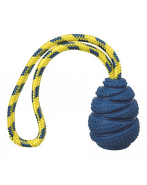 TRIXIE Sporting Jumper guminis žaislas su virve, natūralus kaučiukas 9 cm / 30 cm