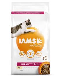 IAMS For Vitality sausas maistas katėms  skonių miksas 100 g pagyvenusiems katėms   /  kastruotems katėms/ dėl plaukų kamuoliukų susidarimo