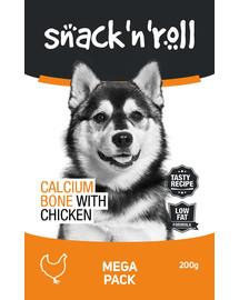 SNACK & ROLL Calcium Bone with Chicken Kalcio kubas su vištiena 200 g