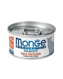 MONGE Monoprotein Kačių maistas kalakutėna 80g