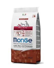 MONGE Mini šuniui avėna su ryžiais ir bulvėmis 2,5 kg