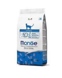 MONGE Cat Urinary katėms dėl problemų su šlapimo sistema 400g