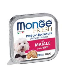 MONGE Fresh Dog Kiaulienos paštetas 100 g
