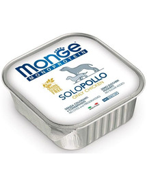 MONGE Monoprotein Solo Šunų maistas su vištiena 150 g