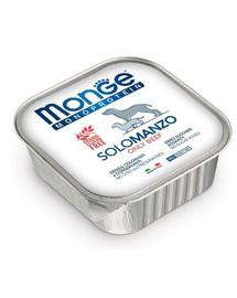 MONGE Monoprotein Solo Dog šunų maistas Jautiena 150 g
