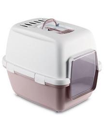 ZOLUX Kačių tualetas CATHY COMFORT su filtrų rožinis