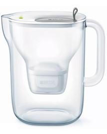 BRITA Style XL vandens filtravimo ąsotis  3,6 l pilkas