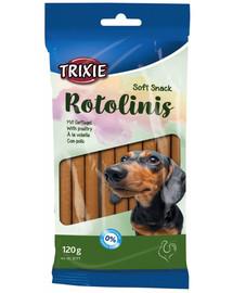Trixie Esquisita Rotolinis skanėstai šunims su paukštiena 120 g
