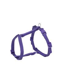 TRIXIE  Petnešos katėms Premium su pavadėliu, 25–45 cm / 10 mm, 1,20 m, violetinės