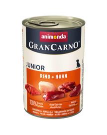 Animonda Grancarno Junior 800 g jaunų šunų konservai su vištiena ir triušiena