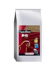 VERSELE-LAGA NutriBird P15 Original maintenance 10 kg - granulės didelėms papūgoms