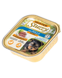 STUZZY Mister Dog su vištiena šuniukams 150 g