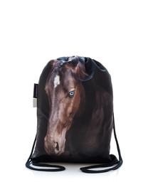 FERA Kuprinė - maišas su spauda  Įlankos arklys