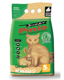 Benek Super Pinio granulės Green Tea 5 l