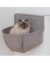 TRIXIE kačių guolis ant radiatoriaus XXL Didelems veislelems rudas