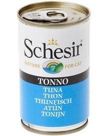SCHESIR Tunas papildomas maistas katėms 140 g