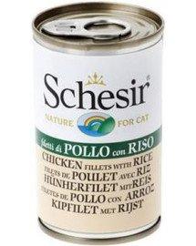SCHESIR Vištienos filė su ryžiais katei 140 g
