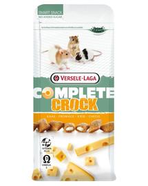 Versele Laga Complete Crock Cheese graužikų skanėstai su sūrio kremu 50 g