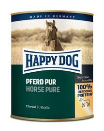 HAPPY DOG Wild Pur Žirgo mėsos šlapias maistas su gryna arklio mėsa 800 g