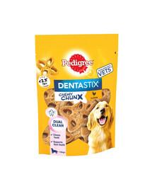 PEDIGREE DentaStix Chewy Chunx Vištienos skonis 68 g dantų skanėstai dideliam šuniui