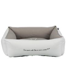 TRIXIE guolis Pet's Home bed 80 × 60 cm pilkas-rudas