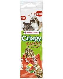 Versele-Laga Crispy Stick Rabbits-Chinchillas Herbs 70 g  burbuolė su žolelėmis