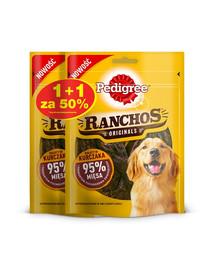 PEDIGREE Ranchos Originals 70g x 4 -šunų skanėstai su vištiena 1 + 50% NEMOKAMAI