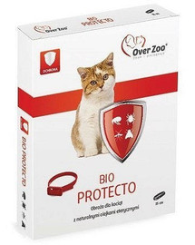 OVER ZOO Bio Protecto Plus 35 cm kačiukų priežiūros ir apsaugos apykaklė