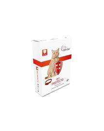 OVER ZOO Bio Protecto Plus 35 cm priežiūros ir apsaugos katės antkaklis