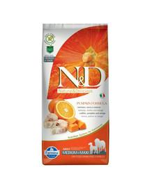 N&D N&D Pumpkin Adult Medium & Maxi Codefish & Orange 2,5 kg