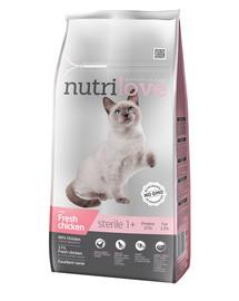 NUTRILOVE Premium dla kota Sterile su šviežia vištiena 7kg