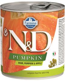 FARMINA N&D Pumpkin Boar & Apple konservai su šerniena ir obuoliais 285 g
